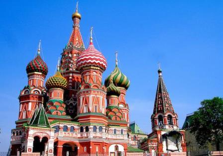 کلیسای جامع سنت باسیل مسکو روسیه