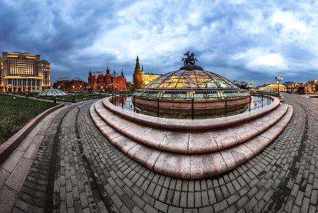 میدان مانژ مسکو روسیه