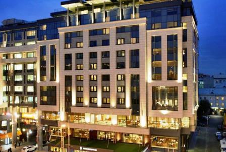 هتل اینتر کنتیننتال تورسکایا مسکو روسیه