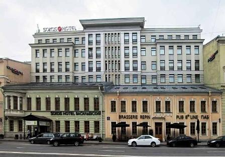 هتل سوکوز پالاس بریج سن پترزبورگ روسیه