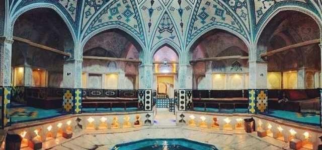 حمامی که در فهرست آثار ملی ایران قرار گرفته است