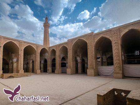 آشنایی با مسجد جامع نایین و مسجد جامع اصفهان