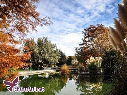 باغ گل ها در اصفهان