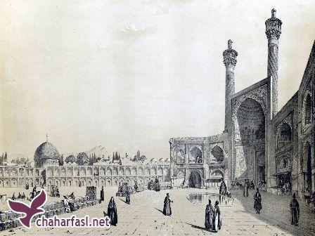 منابع طبیعی و محصولات اصفهان از دیدگاه سیاح خارجی: ژان اوتر فرانسوی