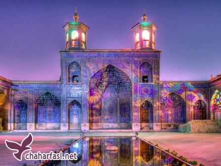مسجد نصیر الملک شیراز یا مسجد صورتی ایران
