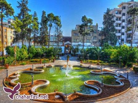 باغ و عمارت شاپوری شیراز