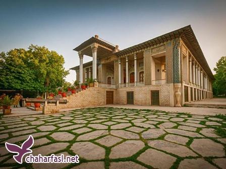 باغ و موزه ی عفیف آباد شیراز