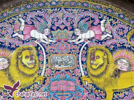 خانه ی زینت الملک در شیراز