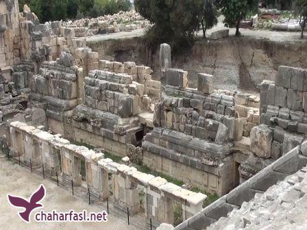 آثار باستانی تازه پیدا شده در محوطه تاریخی تخت جمشید