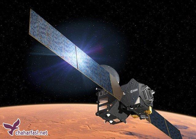 مسابقات اسکی روی یخ در مریخ؟!