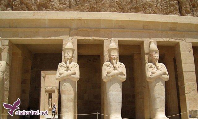 هر آنچه از آثار تاریخی مصر باستان باقی مانده است