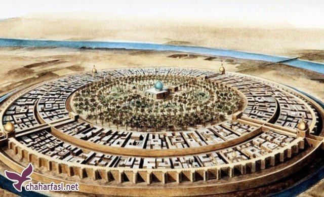 شهر دایرهای عجیبی به قطر 2 کیلومتر