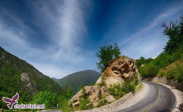 زیباترین جاده های ایران کدامند؟