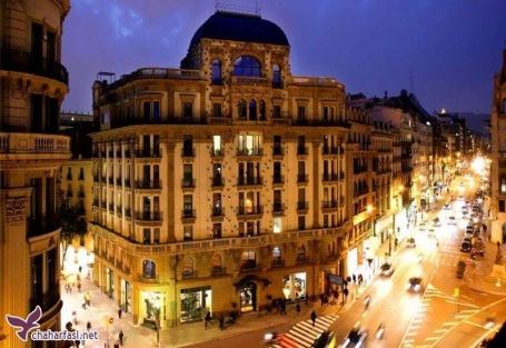 هتل اوهلا بارسلونا